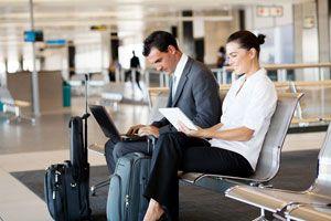 Ilustración de Cómo Perder Menos Tiempo en el Aeropuerto