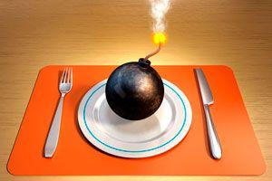 Ilustración de Alimentos Cancerígenos que debes Evitar
