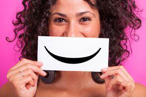 Ilustración de Características de las Personas Felices