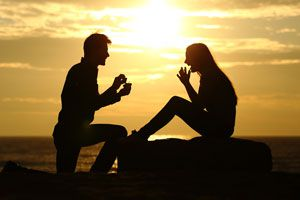 Ilustración de 7 Ideas Creativas para Pedir Matrimonio