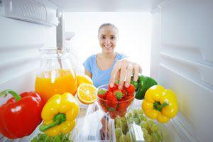 Ilustración de Cómo Usar el Refrigerador