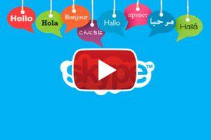 Ilustración de Cómo Traducir las Conversaciones en Skype