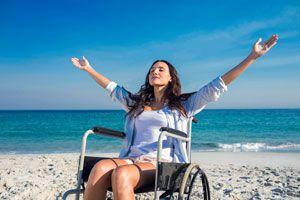 Ilustración de Consejos para Viajar con Personas Discapacitadas