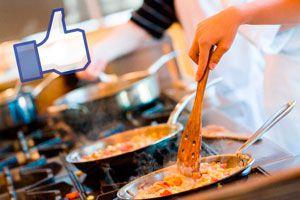 Ilustración de Grupos de Facebook con Recetas de Cocina