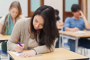 Ilustración de Consejos para Rendir un Examen Difícil