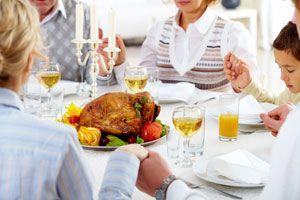 Ilustración de Cómo Comportarse el Día de Acción de Gracias