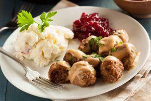 Cómo preparar albóndigas suecas. Receta para hacer albóndigas suecas. Cómo cocinar albóndigas suecas