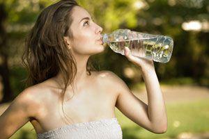 Ilustración de Síntomas de Deshidratación