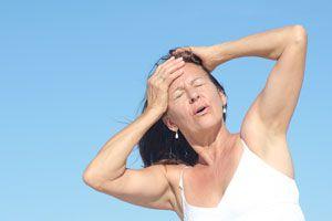 Ilustración de Dieta para Reducir los Sofocos de la Menopausia