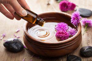 Ilustración de Aromaterapia para Dormir Mejor