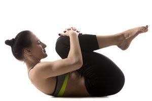 Ilustración de Posturas de Yoga para la Fibromialgia
