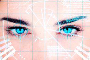 Ilustración de Lectura del Rostro: Ojos y Mirada