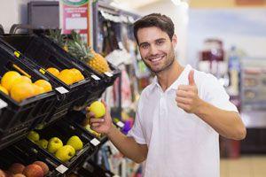 Ilustración de Cómo Leer las Etiquetas de las Frutas