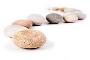 Ilustración de Cómo hacer Piedras de Papel