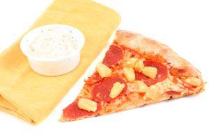 Ilustración de Cómo hacer Pizza con Queso para Untar