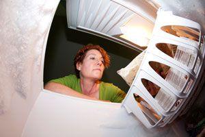 Truco para saber si el congelador se detuvo. Cómo saber si el freezer descongeló los alimentos. Saber si el congelador se detiene