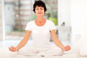Ilustración de Meditación para Desbloquear el Tercer Chakra