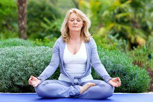 Ilustración de Meditación para Desbloquear el Chakra Corazón