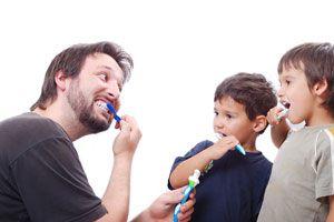 Ilustración de Cómo Enseñar Higiene Personal a los Niños