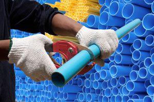 Ilustración de Manualidades con Tubos de PVC