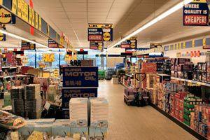 Ilustración de Estrategías de los supermercados para tentar a los consumidores