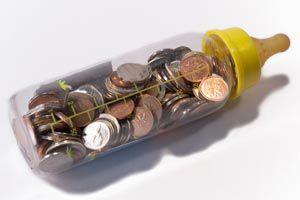 Ilustración de Cuenta de ahorros para nuestros hijos, una idea inteligente