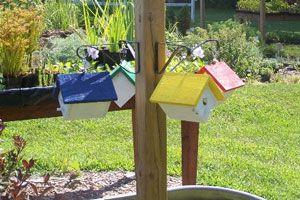 Ilustración de Tres ideas para practicar reciclaje en el jardín
