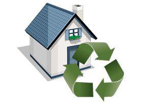 Ilustración de Ventajas y características de las ecocasas o casas verdes