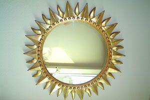 Ilustración de Algunas ideas para renovar los marcos de espejos