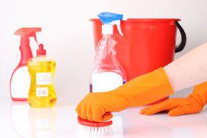 Ilustración de Recetas para hacer productos de limpieza caseros