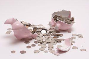 Ilustración de La importancia de ahorrar dinero y no salud