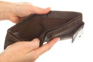 Ilustración de 4 preguntas para saber si eres adicto a gastar a dinero