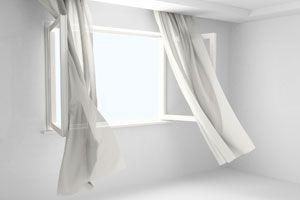 Ilustración de Los beneficios de ventilar para ahorrar