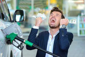 Ilustración de Consejos para ahorrar en el consumo de gasolina