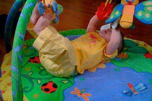 Ilustración de Higiene y cuidado de los elementos personales del bebé