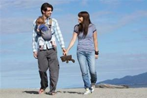Ilustración de Recomendaciones para salir a pasear con un bebé menor de 6 meses