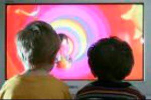 Ilustración de ¿Cuánto tiempo deben ver televisión los niños?