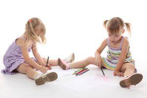 Ilustración de Desarrollo y personalidad de los niños de 4 años