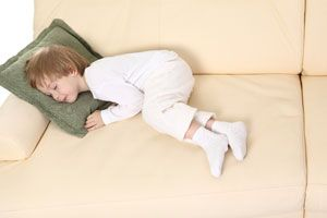 Ilustración de Cómo aplicar el método Estivill para hacer dormir al niño