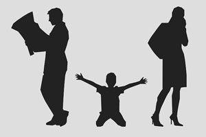 Ilustración de ¿De qué manera afecta a los pequeños el divorcio de sus padres?