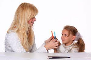 Ilustración de Guía para ayudar a los niños en la época de exámenes escolares