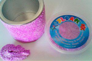 Ilustración de Cómo hacer floam casero para los niños