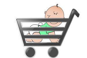 Ilustración de Cómo ir de Compras con niños y Evitar Berrinches