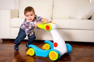 Ilustración de Cómo Jugar con Bebés de 10 Meses