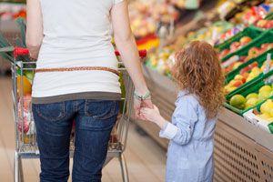 Ilustración de Cómo Ir de Compras con Niños