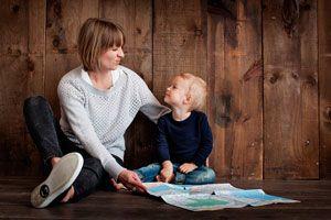 Ilustración de Cómo Hablar con los Hijos