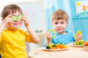 Ilustración de Trucos para que los Ni&ntildeos Coman Verduras