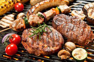 Ilustración de Tipos de Cortes de Carne