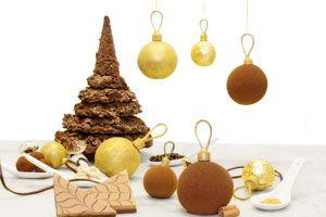 Ilustración de Cómo hacer un Árbol de Navidad de Chocolate