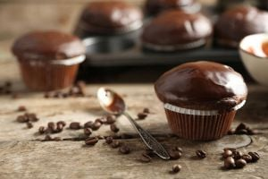 Ilustración de Cómo hacer Muffins de Chocolate Veganos